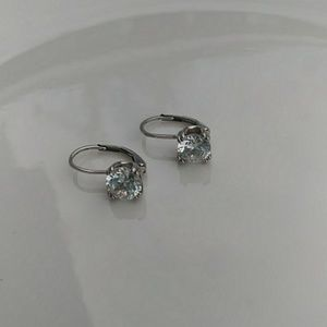 Jewelry - Cubic zirconia and silver earrings